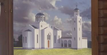 donatorsko vece za gradnju crkve na beloj zemlji