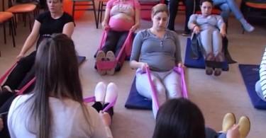 pilates vezbe za trudnice