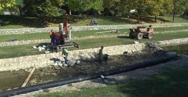 prijepolje rekonstrukcija korita reke milesevke