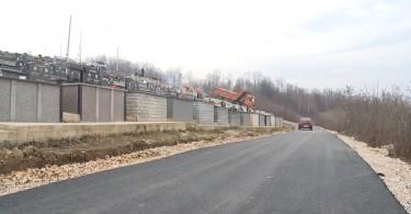 sarica osoje groblje asfaltirano 340 metara