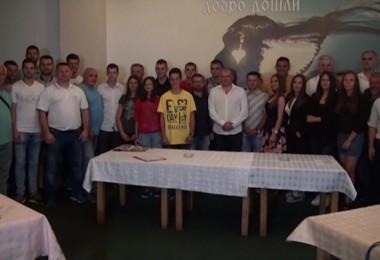 Dodela nagrada sportistima Priboja.mpg.Still001 2