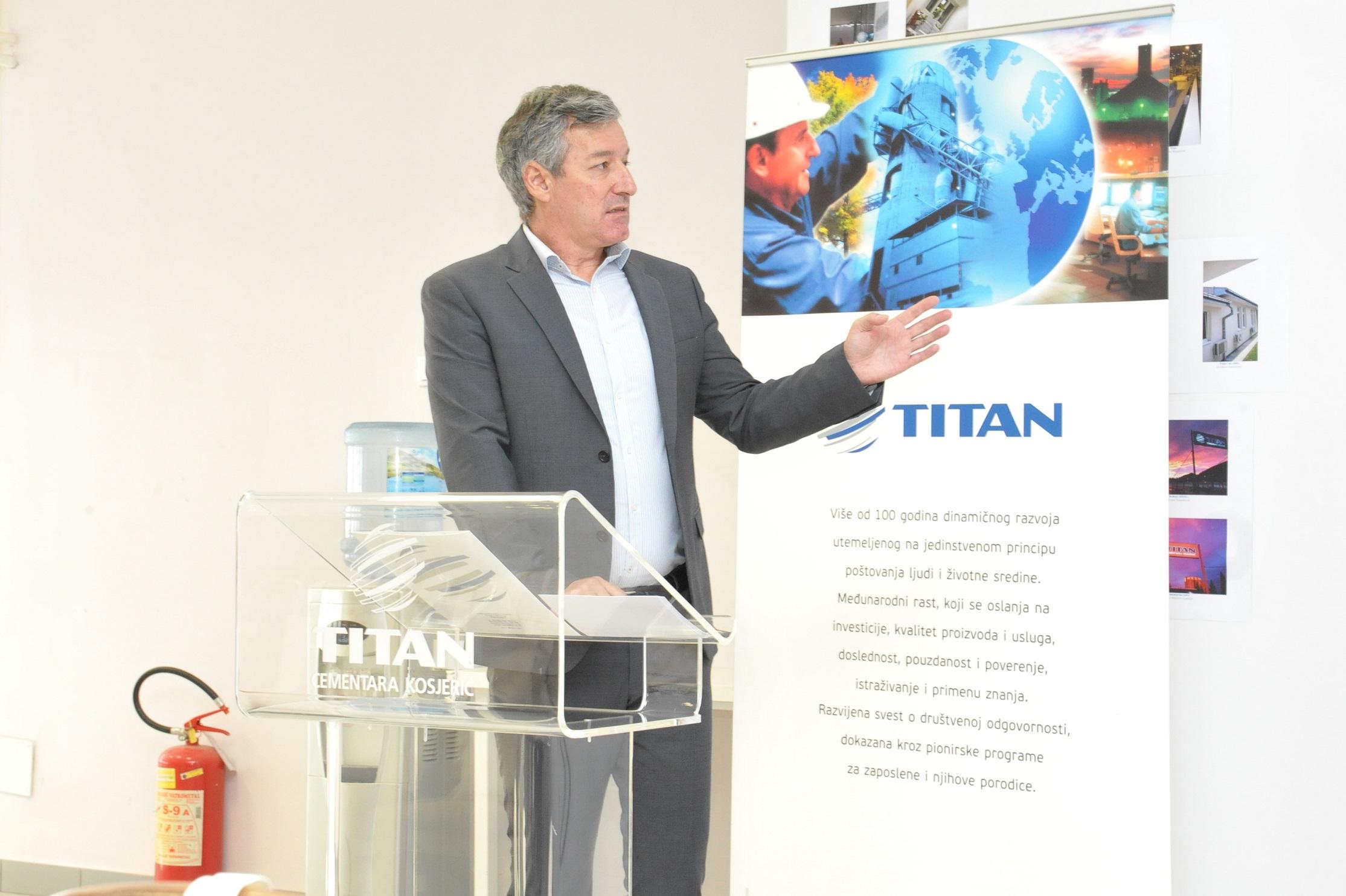 Miroslav Gligorijevic, generalni direktor TCK